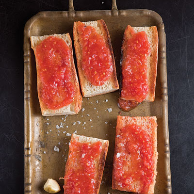 Spanish-Style Toast with Tomato (Pan Con Tomate)