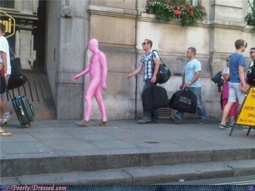 fashion fail - The New Pepto Bismol Mascot