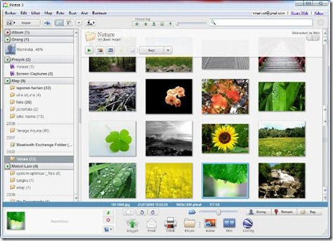 picasa-gallery-web album integrate-vmancer