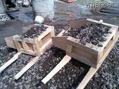 kotak ukuran campuran beton