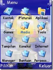 change font - symbian menu