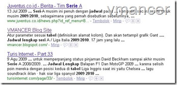 Tabel Jadwal Lengkap Serie A 2009-2010 - Telusuri dengan Google