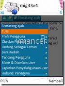 mig33 v4 - chat option