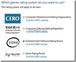 game rating system