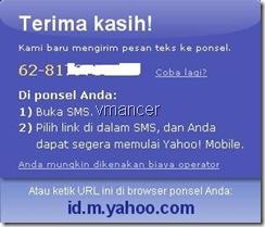 Yahoo! Mail di ponsel Anda. Baca Yahoo! Mail Anda di mana saja.
