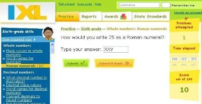 IXL - math 6 grade