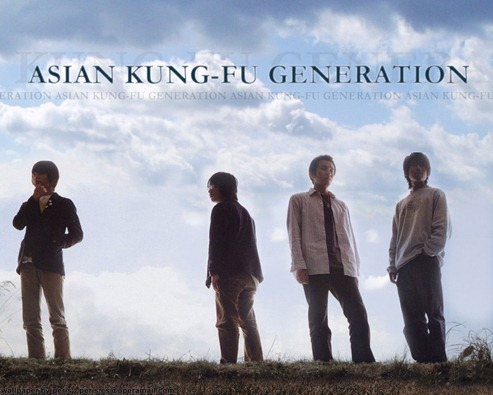 ASIAN KUNGFU GENERATION akfg