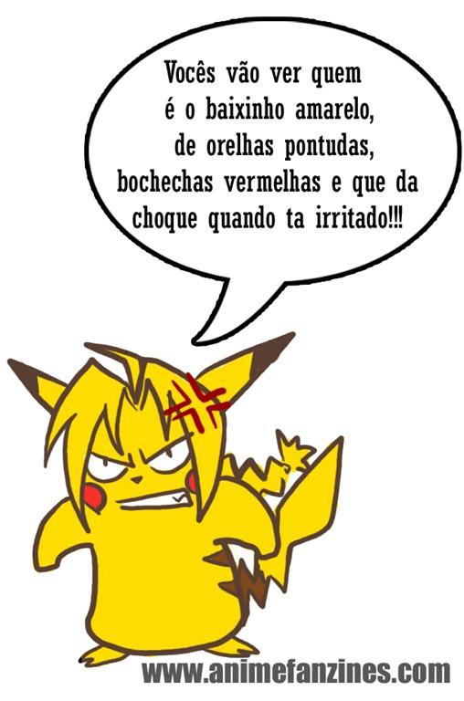 Se a Hiromu Arakawa fosse fã de Pokémon cópia
