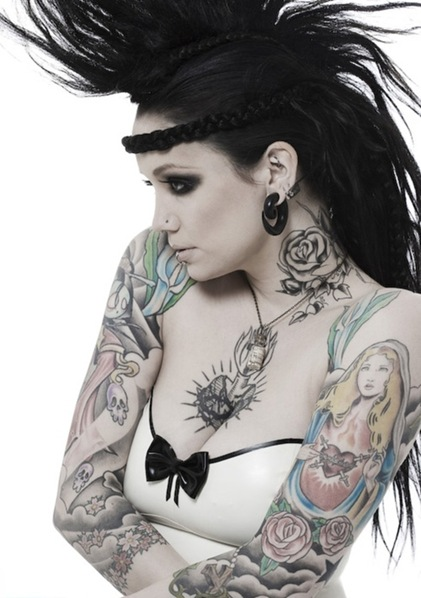 tattooed women22