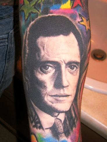 Some dude got a tat of Walken. Thats pretty extreme bro.