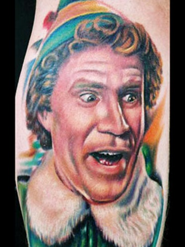 tattoo-elf_will ferrell