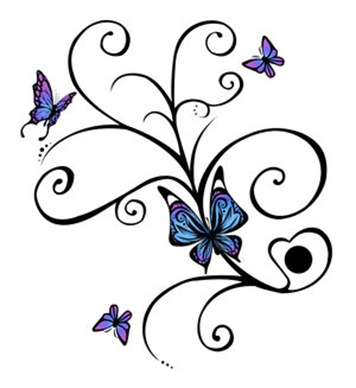 butterfly design tattoos. Butterfly Tattoo Designs