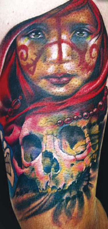 art color tattoo pictures