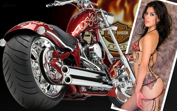 harley_davidson_12_and_hot_women_wallpaper