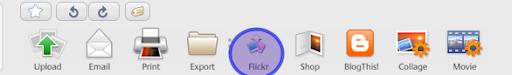 Волшебная кнопка flickr