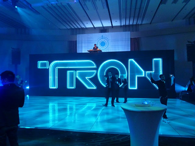 Boys Noize at te Tron Legacy Hollywood premiere after-party