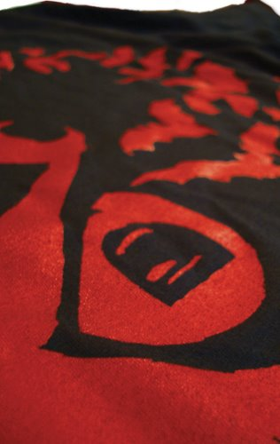ed hardy print, bat print, batman poster