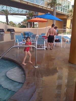Splash Condominiums Pool and Water Park in Panama City Beach, Florida