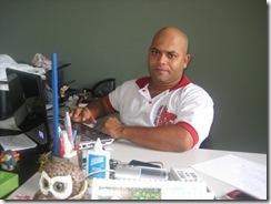 Jean Duarte Coordenador do Centro Cultural Língua Solta