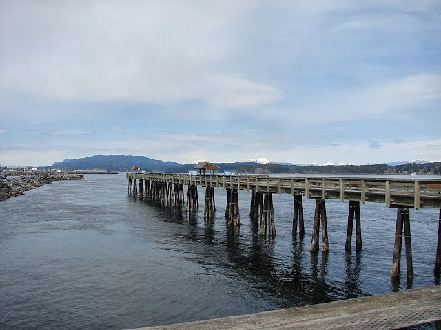 Discovery Pier, Campbell River, Vancovuer Island, British Columbia