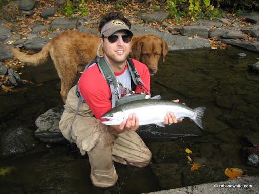 Rob Snowhite @ Salmon River, Ny