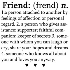 Friend Definition copy