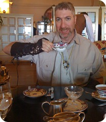 Tea at the Empress
