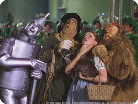 wizard of oz scared
