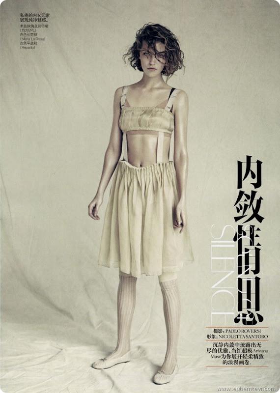 arizona-muse2  for Vogue China April