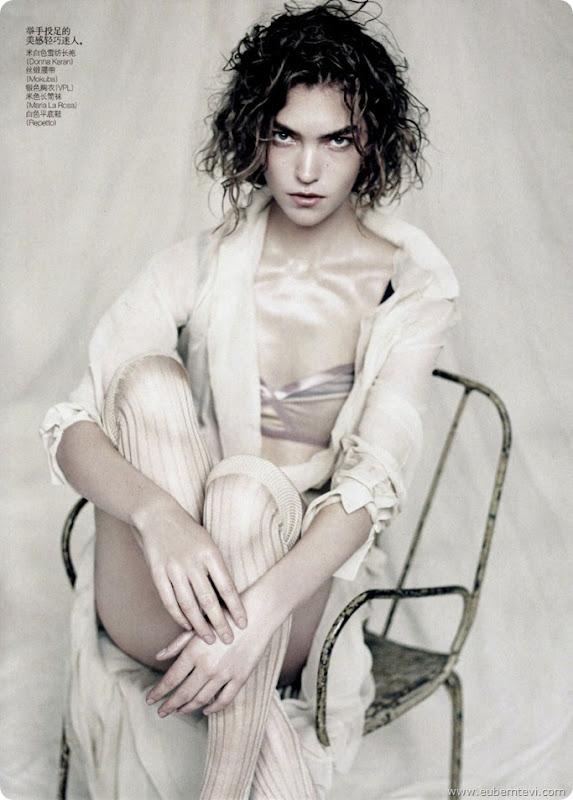 arizona-muse3  for Vogue China April