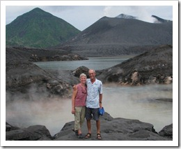 J&K at Mt Tavurvur in Rabaul PNG