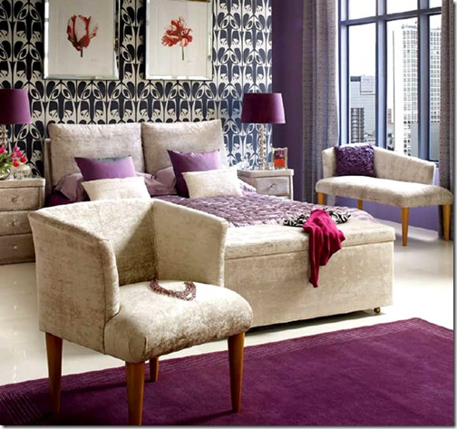 Contemporary-Luxury-Bed-Headboards-Stuart-Jones-Purple-Bedroom-Interior-Design-Ideas