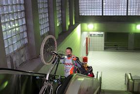 bicicletas en el tren