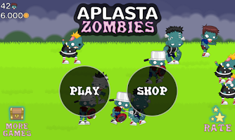 Screenshot of Aplasta Zombies