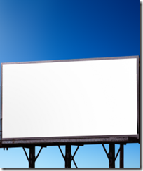 empty billboard 250x300