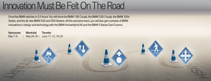BMW Innovation Drive track