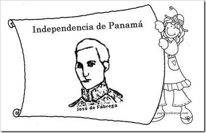 Jugar y colorear: colorear Panamá