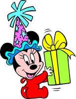 Baby-Minnie-Mouse-Present