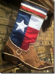 Texas Stocking