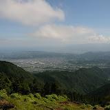 烏尾山に到着した途端、つかの間の快晴に!