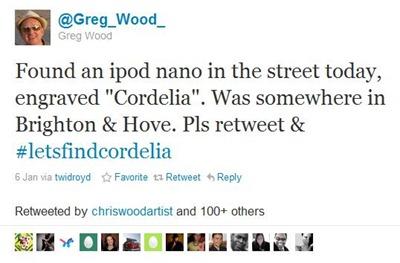 Twitter - Greg Wood