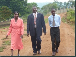 Broadway team, buildings, Kibaale administrators 026