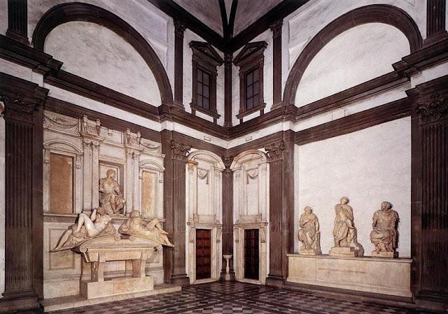 Algargos arte e historia las tumbas de los medicis en la - Arquitectura miguel angel ...