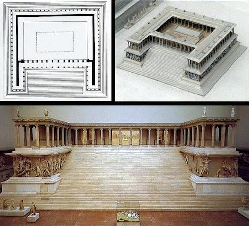 Algargos arte e historia la acr polis de p rgamo el for Gimnasio zeus