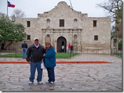 gregg and Netters at Alamo