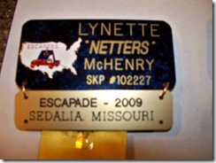 Escapees Badges Netters