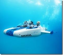 ヴァージン社長の潜水艦