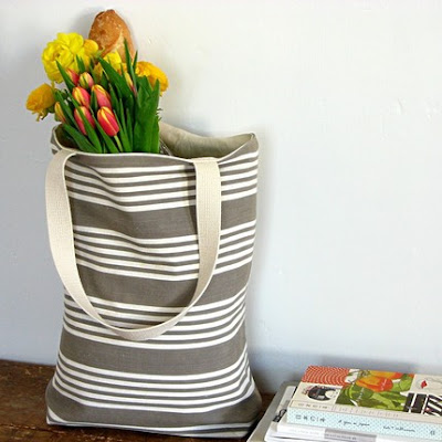jill bent french linen market tote