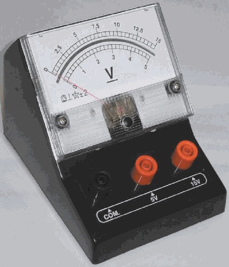 Concept Of Voltmeter : A physics teacher what is the voltmeter