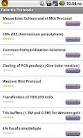 Screenshot of Protocolpedia